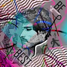 Art // Peinture // Hybride // Melting Pop // Be Best // © Aurélie Bellon