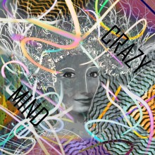 Art // Peinture // Hybride // Melting Pop // Crazy Mind // © Aurélie Bellon