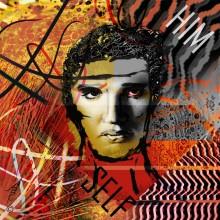 Art // Peinture // Hybride // Melting Pop // Him Self // © Aurélie Bellon