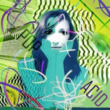 Art // Peinture // Hybride // Melting Pop // Pop Acid // © Aurélie Bellon