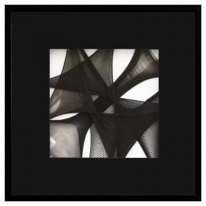 SCCAAT n°7 // Composition sous verre // 50 x 50 cm