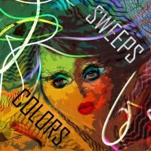 Design // Graphisme // Melting Pop // Sweeps Colors // © Aurélie Bellon