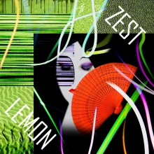 Art // Peinture // Hybride // Melting Pop // Zest Lemon // © Aurélie Bellon