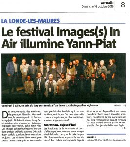 Expo Photo la Londe Images in air