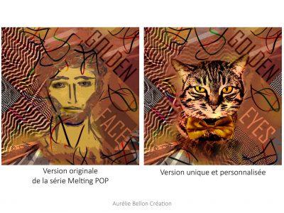 Portraits Graphiques // Melting Pop // © Aurélie Bellon