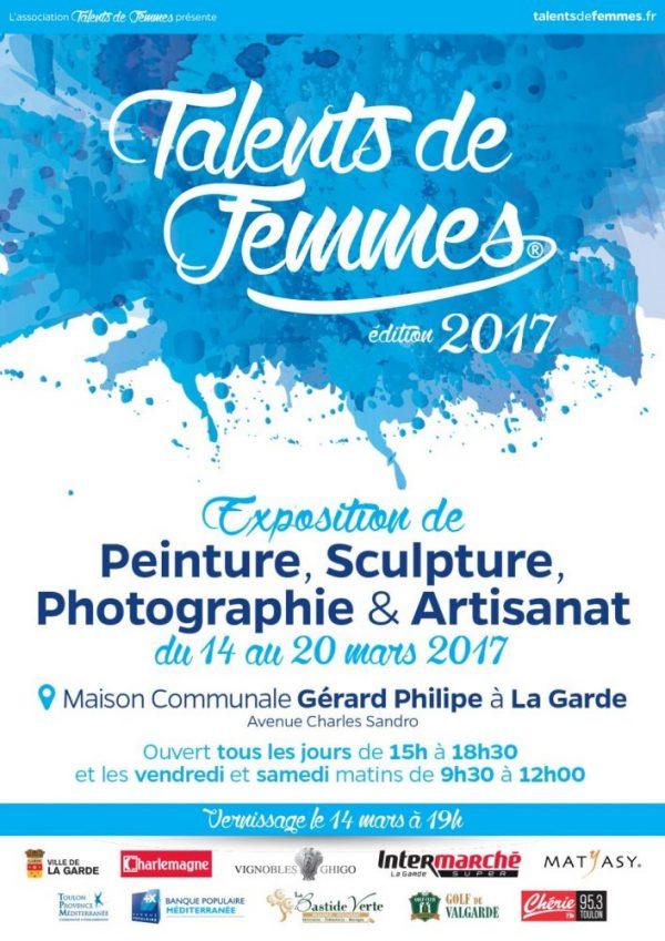 Exposition Talents de Femmes La Garde