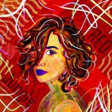 Art // Hybride // Melting Pop // Jungle Red // © Aurélie Bellon