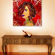 Art // Peinture // Hybride // Melting Pop // Mise en situation // © Aurélie Bellon