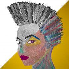 Art // Peinture // Hybride // Remake // Amazone 5 // © Aurélie Bellon