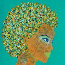 Art // Peinture // Hybride // Remake // Amazone 15 // © Aurélie Bellon