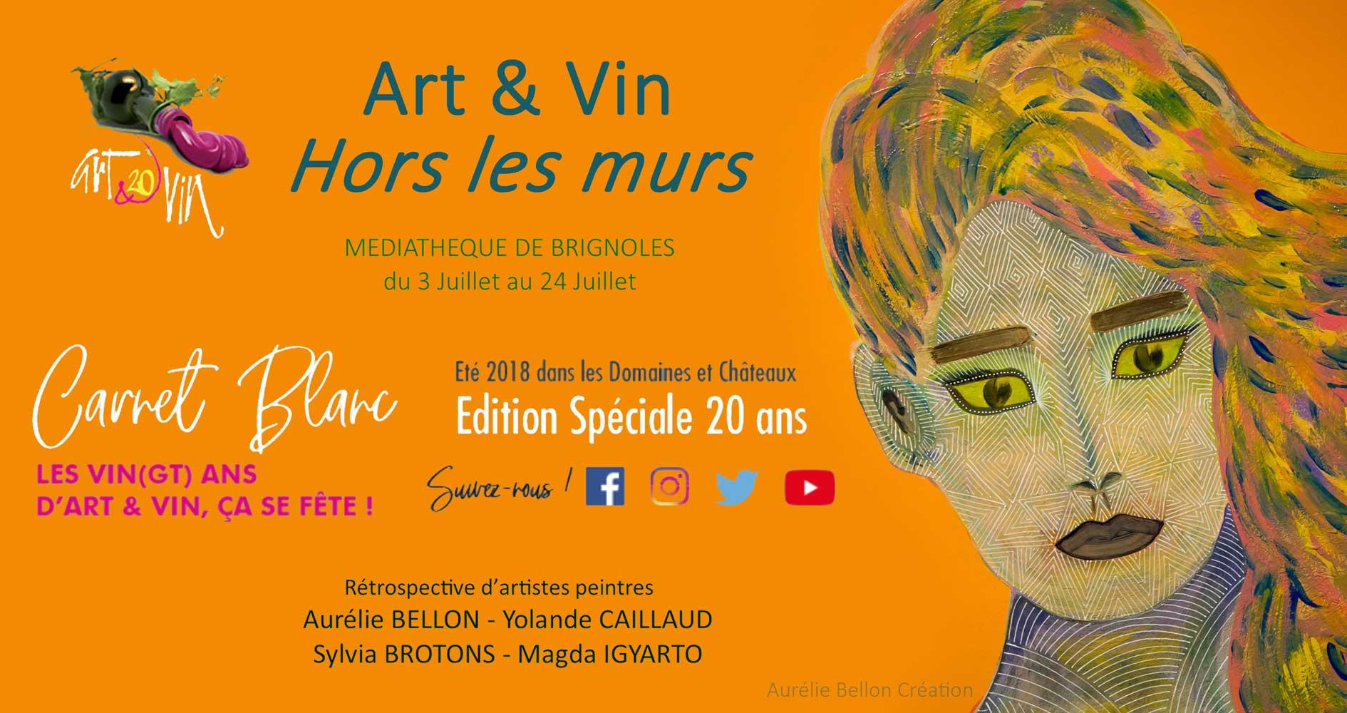 Com expo Art & Vin hors les murs // © Aurélie Bellon
