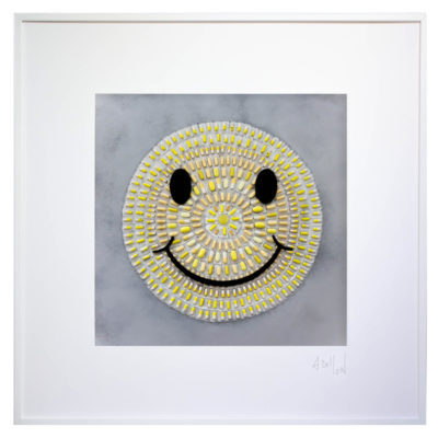 Hypocondri'Art SMILEY // 83x83 cm // © Aurélie Bellon