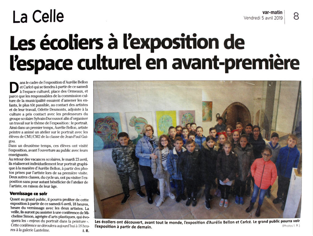 Exposition La Celle // © Aurélie Bellon