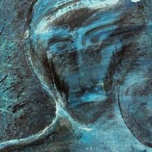 Dans le vent // Acrylique sur toile // 38 x 61 cm