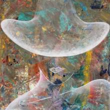 Paloma // Technique mixte sur toile // 81 x 100 cmA