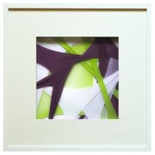 SCCAAT n°5 // Composition sous verre // 50 x 50 cm