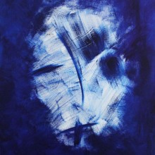 Apparition // huile sur toile // 54 x 73 cm