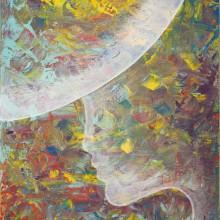 Soleil d'été // Acrylique sur toile // 33 x 41 cm