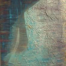Dialogue 1 // Technique mixte et collage sur bois // 50 x 60 cm