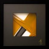 SCCAAT n°4 // Composition sous verre // 23 x 23 cm