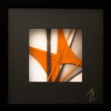 SCCAAT n°6 // Composition sous verre // 23 x 23 cm