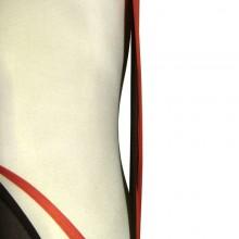 Au féminin // Zoom buste en collant // © Aurélie Bellon