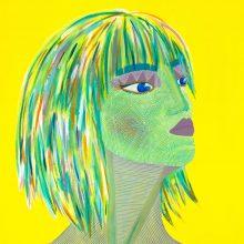 Art // Peinture // Hybride // Remake // Amazone 11 // © Aurélie Bellon