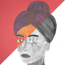 Art // Peinture // Hybride // Remake // Amazone 12 // © Aurélie Bellon