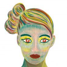 Art // Peinture // Hybride // Remake // Amazone 13 // © Aurélie Bellon