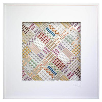 Hypocondri'Art DIALUZAÏQUE 736 // 83x83 cm // © Aurélie Bellon