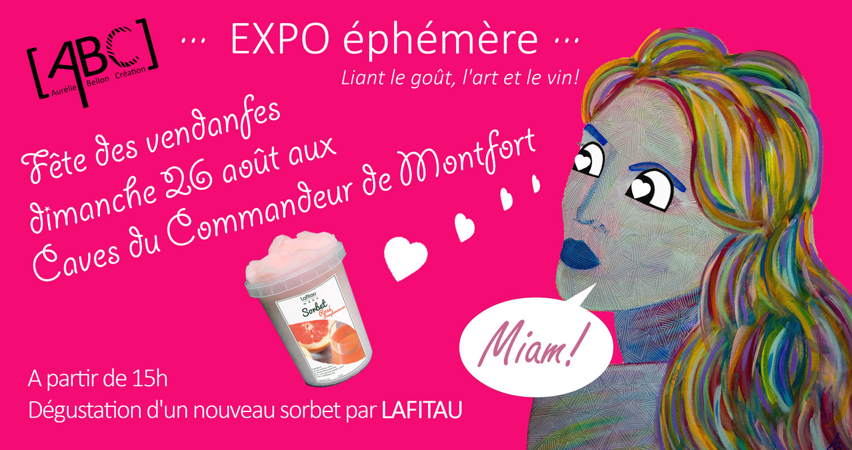 Com expo Éphémère Fête des vendanges // © Aurélie Bellon