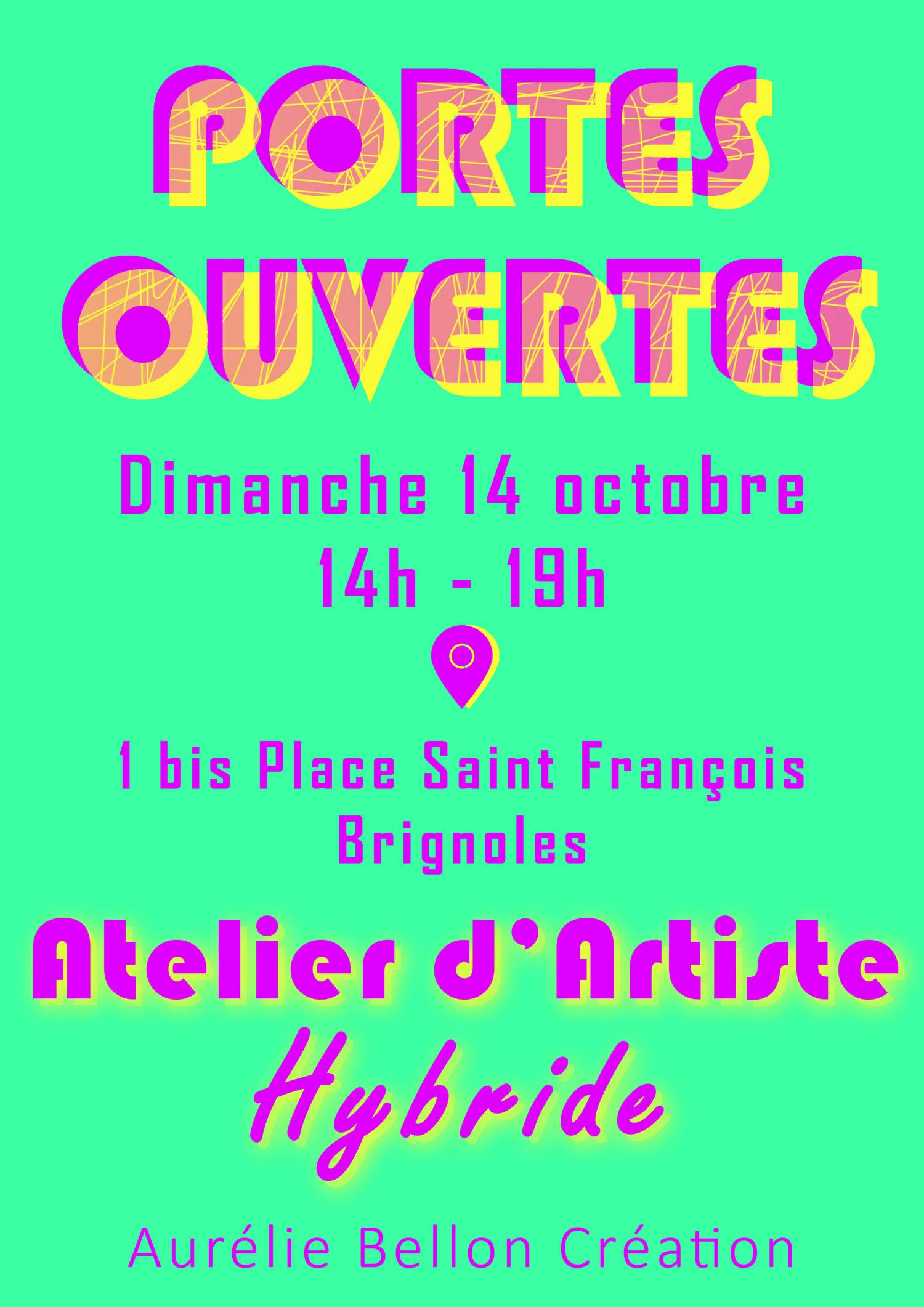Portes Ouvertes Atelier // © Aurélie Bellon